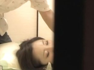 Gorgeous Jap dicked and sprayed in spy cam Asian sex video