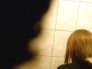 Lovely redhead taking a good piss and shot in cam