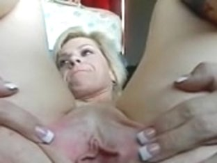 Lascivious mother i'd like to fuck selftapes widening her arsehole. Real non-professional