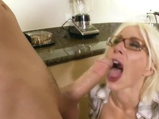 Horny blonde Puma Swede takes on meaty dick