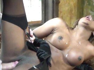 Danny D fucks screaming ebony Jasmine Webb