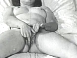 Retro Porn Archive Video: Femmes seules 1950's 15
