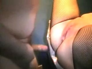 Hot non-professional girlfriend fishnet anal fuck first time on clip