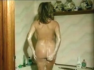 My huge tittied wife really enjoys taking a bath in front of a camera
