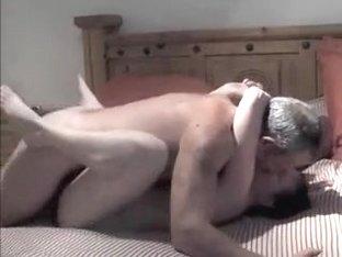 Old guy fucks his wife