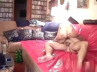 Fucking with hubby on livecam