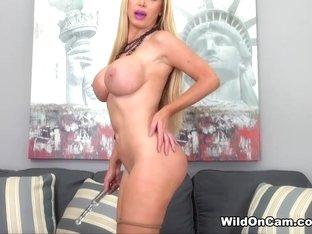 Incredible pornstar Nikki Benz in Fabulous Fake Tits, Big Ass porn video