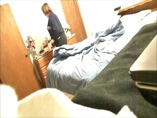 Hidden cam catches mom changing