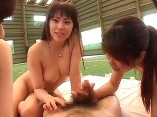 Incredible Japanese slut Yuna Hoshi, Ryo Akanishi, Nao Mizuki in Fabulous Public, Hardcore JAV mov.