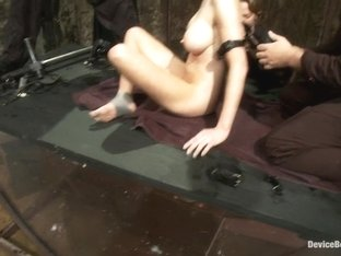 Underwater inverted sybianhelpless big tittied blonde suffers mindblowing orgasms