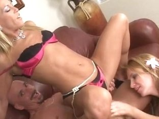 Mrs. Chelsea Teaches Teen Janie How To Suck And Fuck