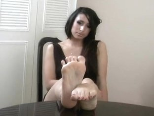 Foot fetish model two