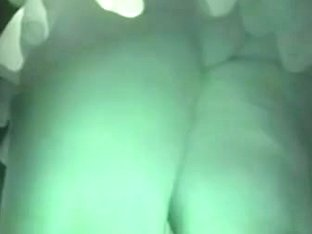 That fabulous mini skirt and ass caught on night vision cam