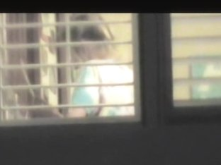 Fan of window voyeurism has shot hot movie for us