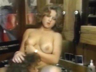 Retro cum produced for hot blonde