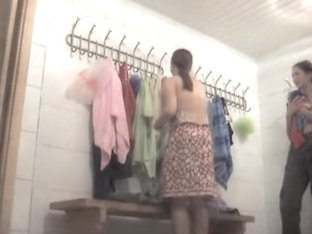 Spy cam loves filming naked babes in the changing room