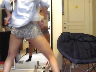 Most Excellent twerking cam dilettante clip