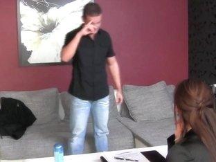 FemaleAgent HD Accidental casting creampie