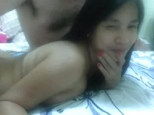 thai lady sucking her white boyfriends ding-dong on web camera