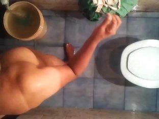 My mature bathing