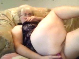 granny a anal dildo show
