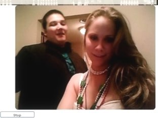 Swinging my big tits on a webcam
