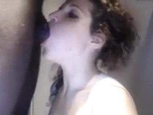 BlackCockLDICK SUCK white girl