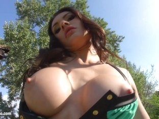 Kitana Lure getting a dick deep in ass for anal on Ass Traffic