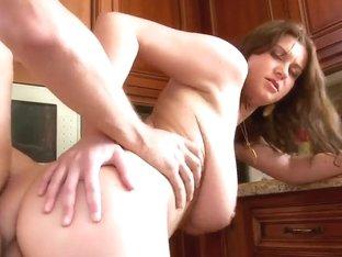 Chubby girl with huge titties Sara Stone fucking