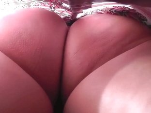 What a beauty to behold! Lovely Red Thong...