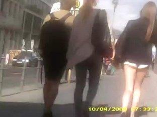 Berlin spy at street