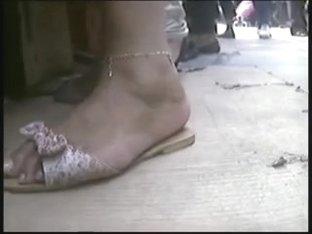 Candid arabic feet 01