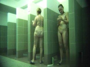 Hidden cameras in public pool showers 141