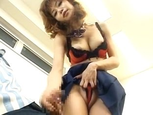 Horny Japanese model Akane Hotaru in Incredible Fetish, Upskirts/Panchira JAV scene