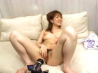 Horny Japanese chick Chise Suzuki in Amazing Big Tits, Masturbation/Onanii JAV movie