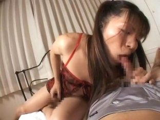 Hottest Japanese whore in Horny /Futanari, Lingerie JAV movie