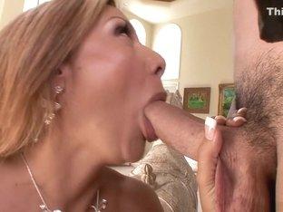 Best pornstar Demi Delia in hottest big tits, blonde porn scene