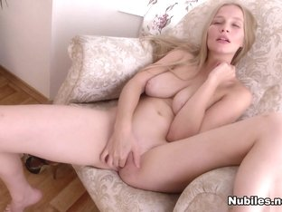 Gyana A in Horny Blonde - Nubiles