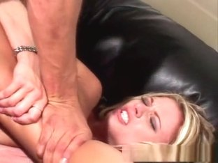 Amazing pornstar Briana Banks in horny facial, blonde adult clip