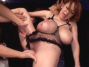 Hitomi Gets Gang Fucked
