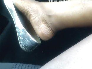 Ebony shoe play dangle