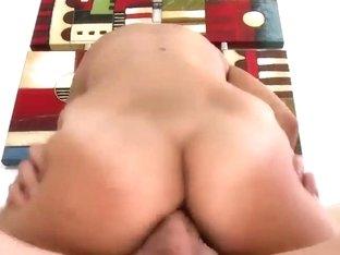 Slender tanned amateur slut pleasured tall stud