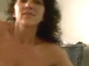 Mature lady stripteasing for her husband in this homemade video
