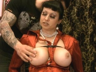 Trinity-Productions: Satin Milf Distress 2