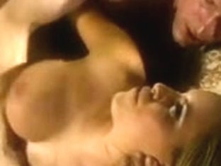 Curvy blond receives her bawdy cleft licked from behind