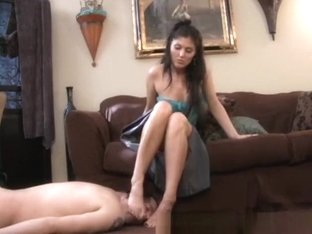 Crazy Amateur movie with Femdom, Brunette scenes