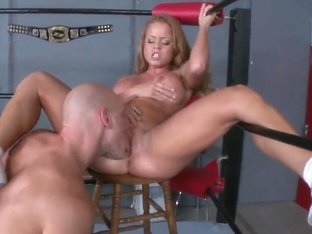 Johnny Sins fucks Nikki Delano in the ring