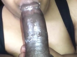 Cum on the Tongue