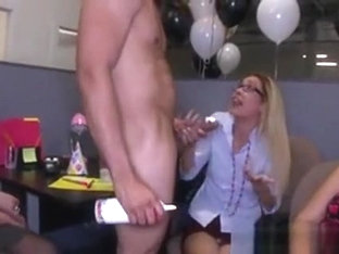 My Gf Sucking Dick At The Work Office Party