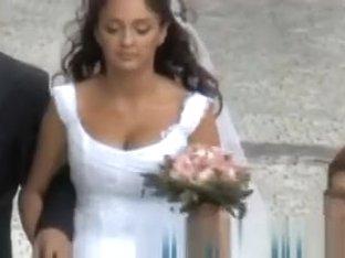 Bride on a walk